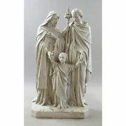 Holy Family Jesus Mary Joseph Garden Sculpture Statue By Orlandi Statuary