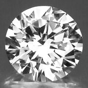 Russian Cz White Cubic Zirconia Round Faceted 6aaaaaa 0.8mm - 20mm Loose Stone