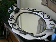 Maitland Smith Oyster Shell Butterfly Mirrored Vanity Tray 2547-007