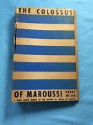 The Colossus Of Maroussi - New Directions Editon Inscribed By Henry Miller