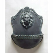 Large Lion Wall Fountain- Indoor Or Garden By Orlandi -13 Finishes Available 42