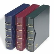 Red Coin Collection Album Numis Leuchtturm 327836 Currency Money Coin Book Album