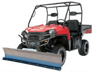 66 Kfi Complete Snow Plow Kit W/ Mad Dog Winch Kit For 2011 Case Ih Scout Xl