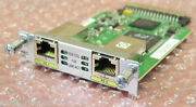 Cisco Hwic-2fe 2 Port Layer 3 High Speed Wan Interface Card For Cisco Routers