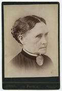 Cabinet Card Blind Woman Cataracts. Anderson Indiana.
