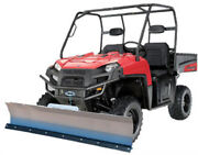 72 Kfi Complete Snow Plow Kit W/ Mad Dog Winch Kit For 2011 Case Ih Scout Xl
