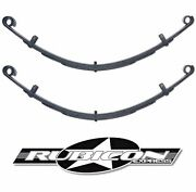 Rubicon Express Extreme Duty Front Leaf Springs 4.5 Lift For 1976-1986 Jeep Cj