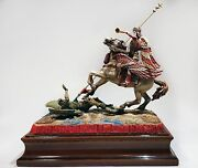 Archangel Michael - Victory Over A Satan 54mm Tin Alloy Miniature Soldier