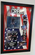 Creed Michael B Jordan Signed Photo Picture Autographed Photo Display