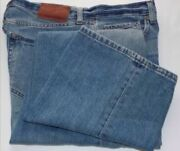 Menand039s Banana Republic Relaxed Fit Jeans W31 L30 Mid-rise 100 Cotton Zip Button