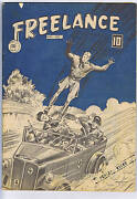 Freelance Comics V2 11 Anglo American 1944 Canadian Edition Classic War Cover