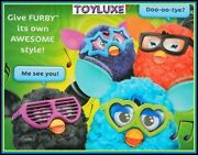 Furby Frames 2 Pk Glasses And Stickers Accessories For Interactive Electronic Toy