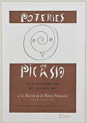 Poteries De Picasso By Picasso Signed Lithograph 10x7