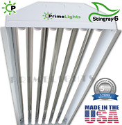 Led High Bay 6 Bulb Lamp Warehouse, Auto, Shop, Bright, Light New - Instant On