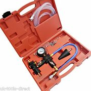 Cooling System Vacuum Purge And Refill Kit Universal Set With Instructions