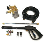 3000 Psi Pressure Washer Pump And Spray Kit For Karcher G3050 Oh With Honda Gc190