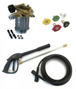 3000 Psi Pressure Washer Pump And Spray Kit Troy-bilt 020208 020208-0 020208-01