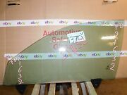 02 03 04 05 06 07 08 Audi A4 Front Driver Side Door Glass Used Window 1370-v