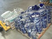 1100+ Coors China Alox Dinner Catering Plates Cups Blue 5 1/2 6 8 10 1/2 12