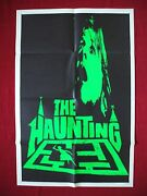 The Haunting 1963 Original Movie Poster Day-glo Green Teaser Halloween Horror