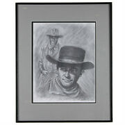 The Duke By Anthony Sidoni 2010 Framed Lithograph 20 1/2x16 1/2