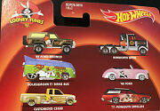 Hot Wheels Looney Tunes Cartoon Cars Vehicles Real Riders 8cm 2013 New And Sealed