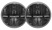 Rigid Industries 55000 7 Round Led Headlights For 2007-2017 Jeep Wrangler Jk