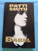 Babel - First Edition In Hardcover By Patti Smith