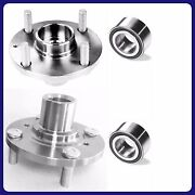 2 Front Wheel Hub And Bearing For Acura Integra 1990-1993 Left And Right New