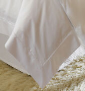 Sferra Giza 45 Percale Egyptian Cotton Duvet Cover With Flanges