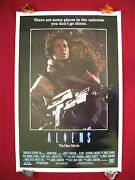 Aliens 1986 Original Movie Poster English Intand039l One Sheet Rare Rolled Halloween