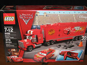Lego Disney Cars 2 Mackand039s Team Truck 8486 374 Pcs New And Sealed Retired
