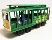 Vintage Collectible Toy Cable Car Train San Francisco Municipal Railway W/ Bell