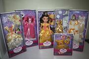 Disney Princess And Me Belle Jewel Edition Doll And 5 Outfits
