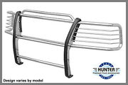 Chrome Bumper Brush Grill Guard In Stainless Steel Fit 2004 Nissan Frontier