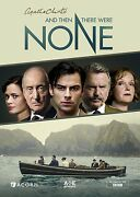 And Then There Were None Aidan Turner Brand New Dvd Agatha Christie