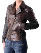 Andpound795 Matchless London Birmingham Blouson Jacket Lady Womens Size 42 Bnwt Italy