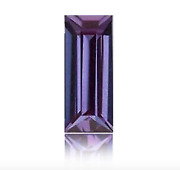 Lab Created Pulled Alexandrite True Color Change Baguette Loose Stone4x2-35x25
