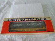 Onel Lionel O 0/27 Katy Liquified Oxygen Car