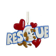 Doggy Rescue Ornamanet