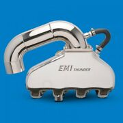 Emi Thunder Exh System Bb Chevy W/ss Hi Perf S-pipe Kit Polished Pair Emi-551p