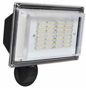 42w Led Outdoor Parking Lot Security Light Wall Pack Fixture W/ Automatic Sensor