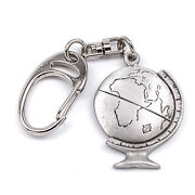 Globe Keyring With And039keep Safeand039 Message