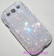 12ss Crystal Diamond Bling Back Case For Samsung Galaxy S4 W/ Elements
