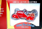 1930and039s Skippy Fire Engine Pedal Car Replica Limited Edition Collectible New