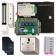 Access Control Systems And Kits Magnetic Lock Door Entry Control 6005b Prox Reader