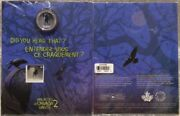 2015 Haunted Brakeman Canada Lenticular 25 Cent Coin And Stamp Gift Set