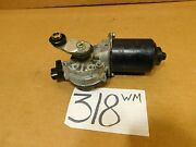 2006 - 2007 Jeep Commander Front Used Front Windshield Wiper Motor 318-wm