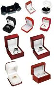 Ring Gift Boxes Jewelry Display Ring Packaging Wholesale Lots Choose Style Color
