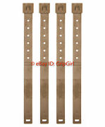 4x Lot Tactical Tailor - Long Coyote Malice Clips 4 Pack - Usmc Marine Fde New